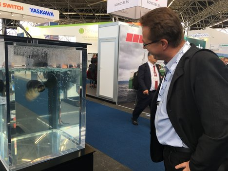 Besuch der Electro & Hybrid maritime World Expo in Amsterdam